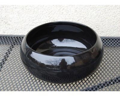 Ceramiczna Czarna Misa średnica 15 Cm